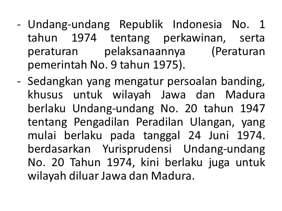 Undang-undang Republik Indonesia No