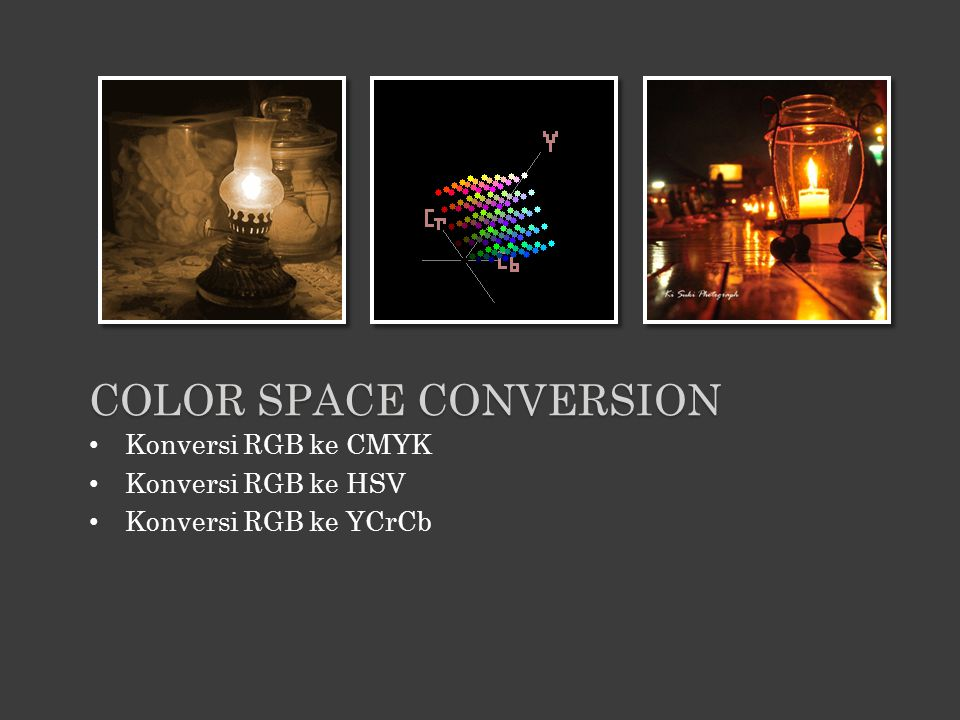 Color space conversion