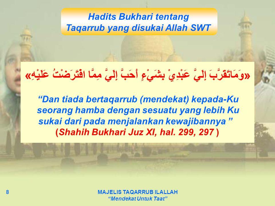 Hadits Bukhari tentang