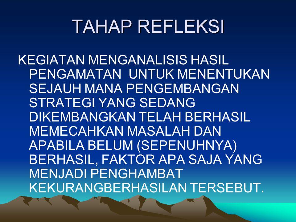 TAHAP REFLEKSI