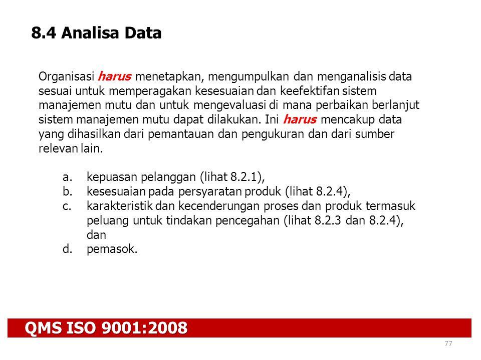 8.4 Analisa Data