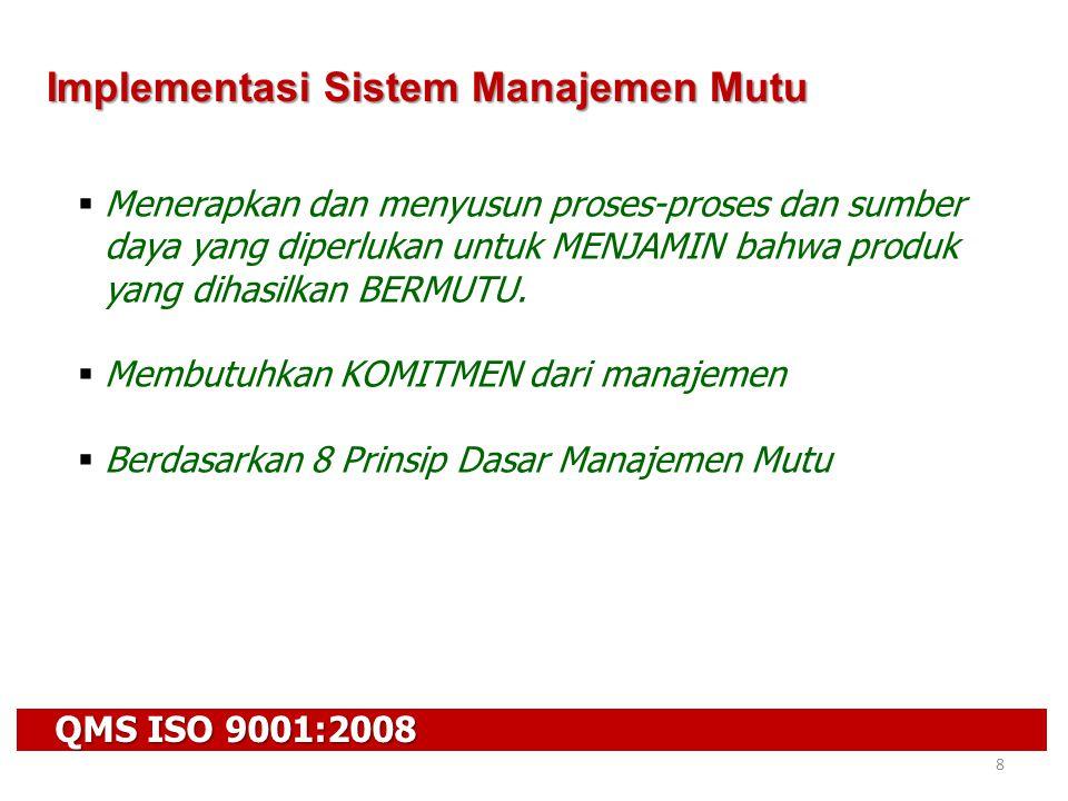 Implementasi Sistem Manajemen Mutu
