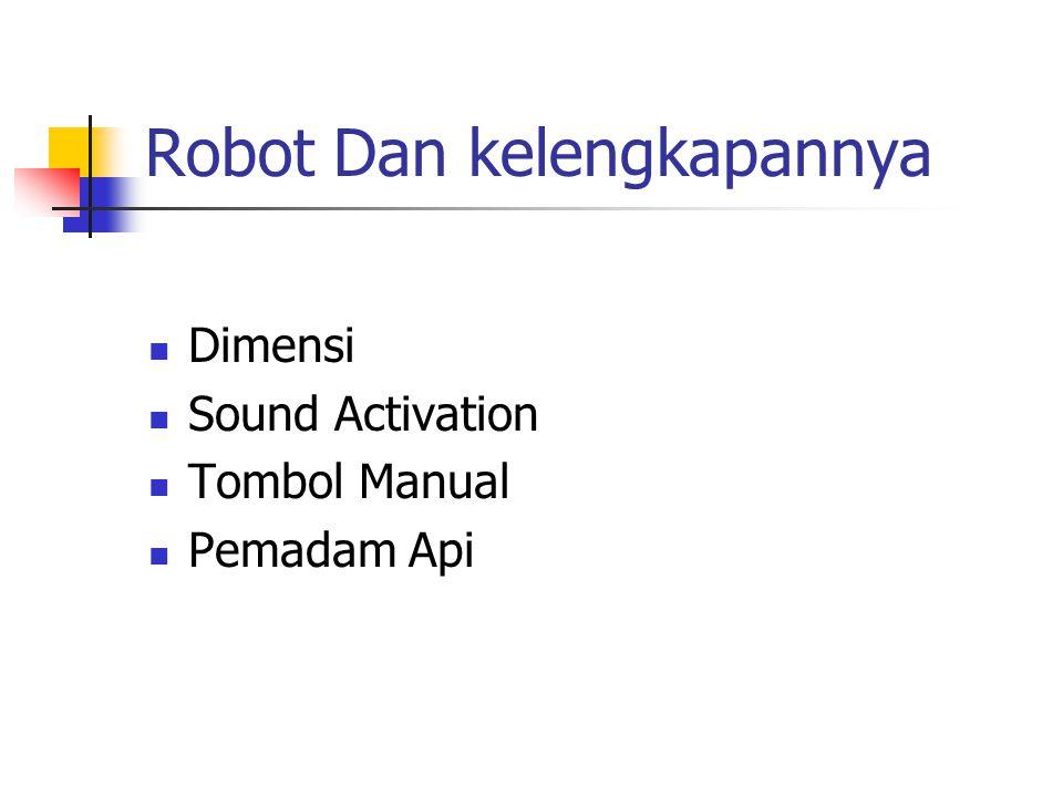 Robot Dan kelengkapannya