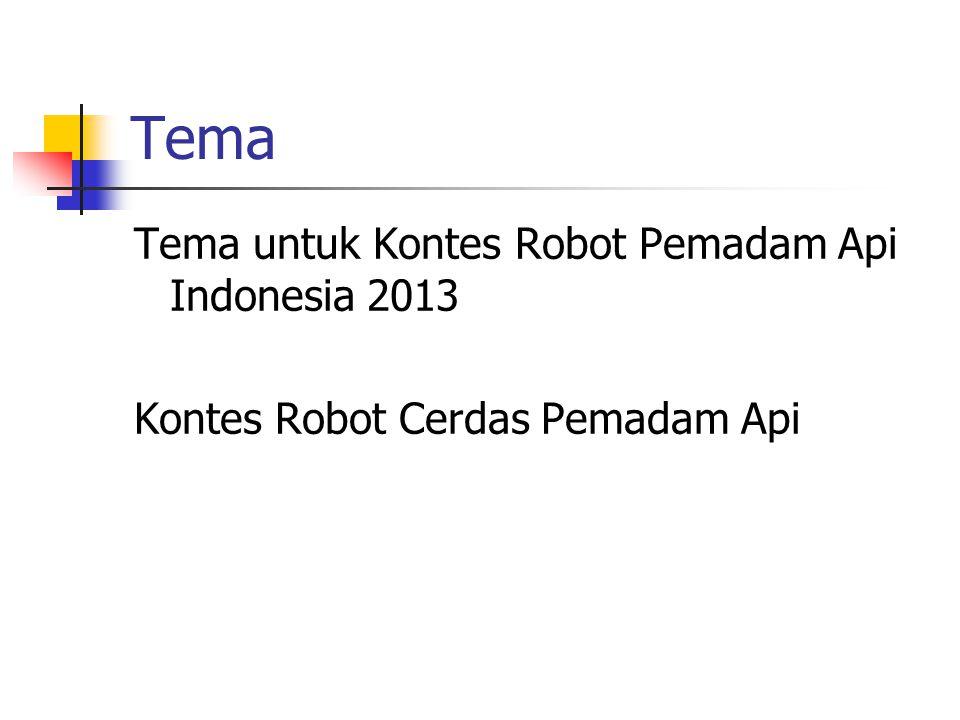 Tema Tema untuk Kontes Robot Pemadam Api Indonesia 2013