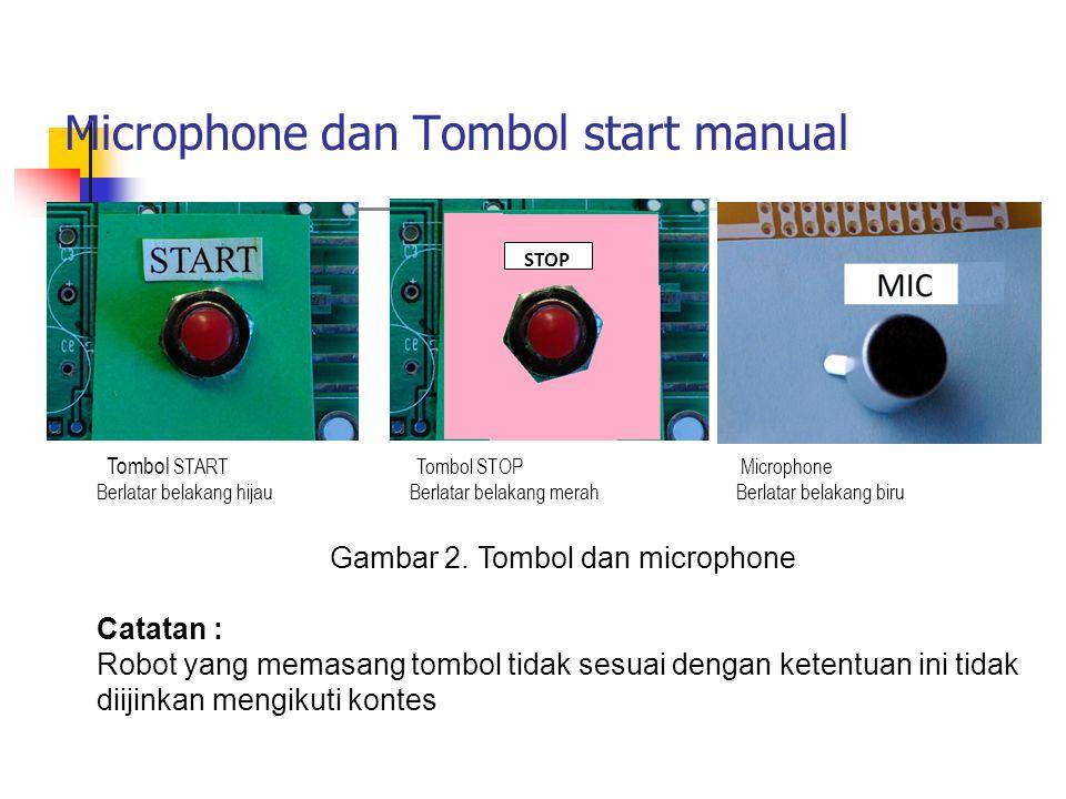 Gambar 2. Tombol dan microphone