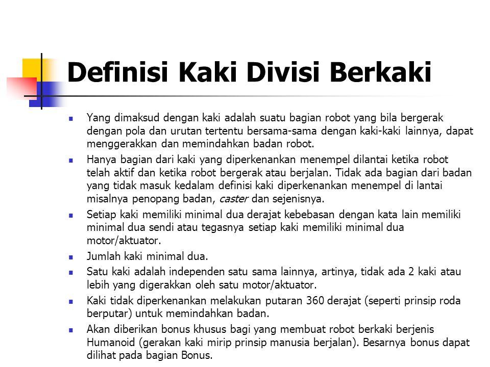 Definisi Kaki Divisi Berkaki