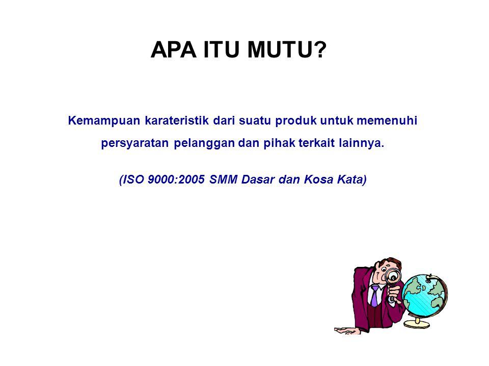 (ISO 9000:2005 SMM Dasar dan Kosa Kata)