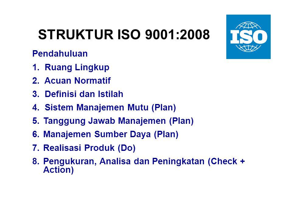 STRUKTUR ISO 9001:2008