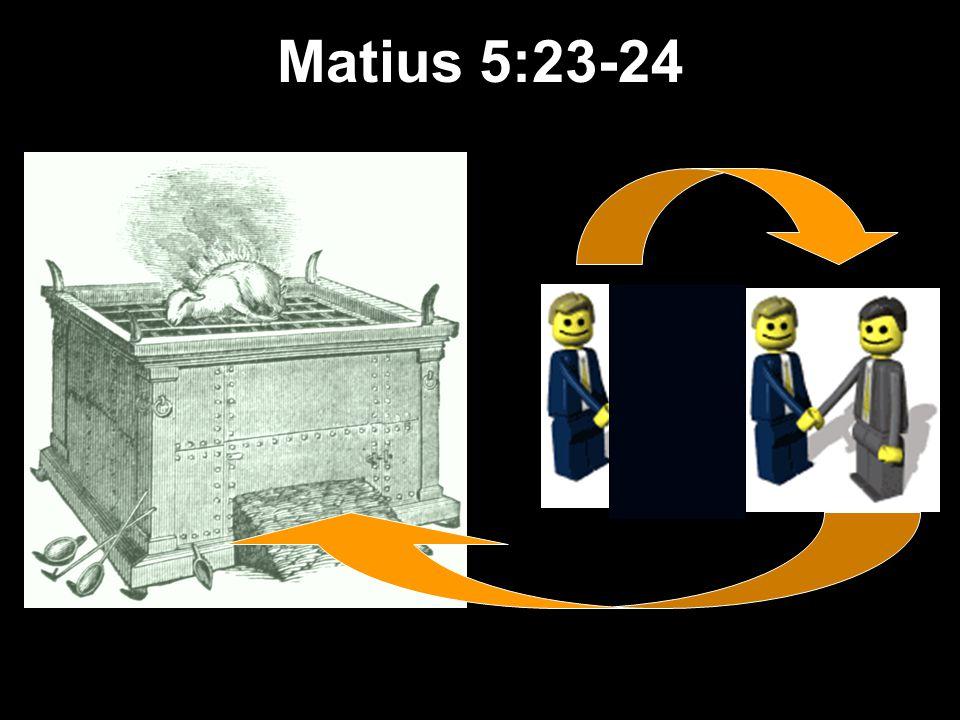 Matius 5:23-24