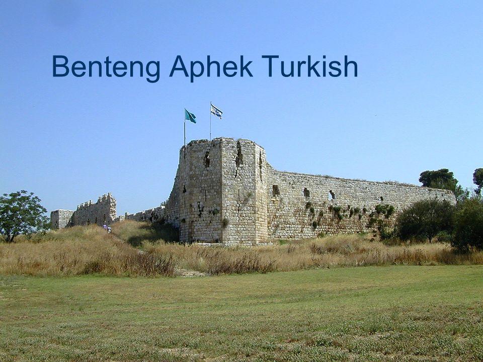 Benteng Aphek Turkish