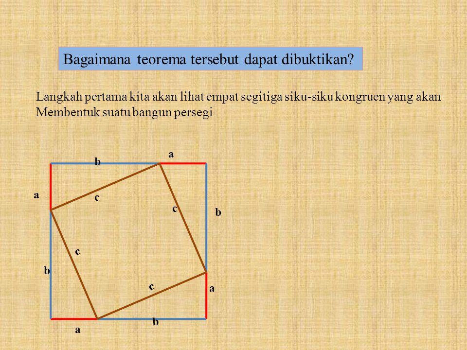 Bagaimana teorema tersebut dapat dibuktikan