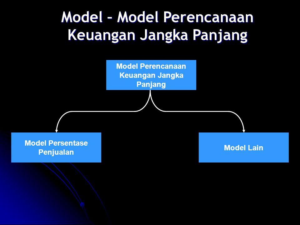 Model – Model Perencanaan Keuangan Jangka Panjang