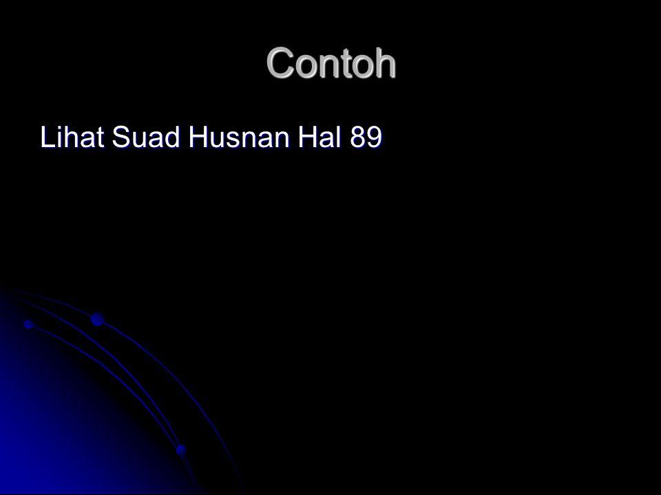 Contoh Lihat Suad Husnan Hal 89