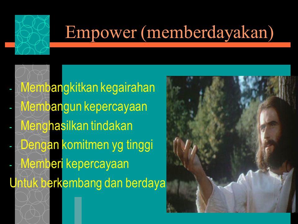 Empower (memberdayakan)