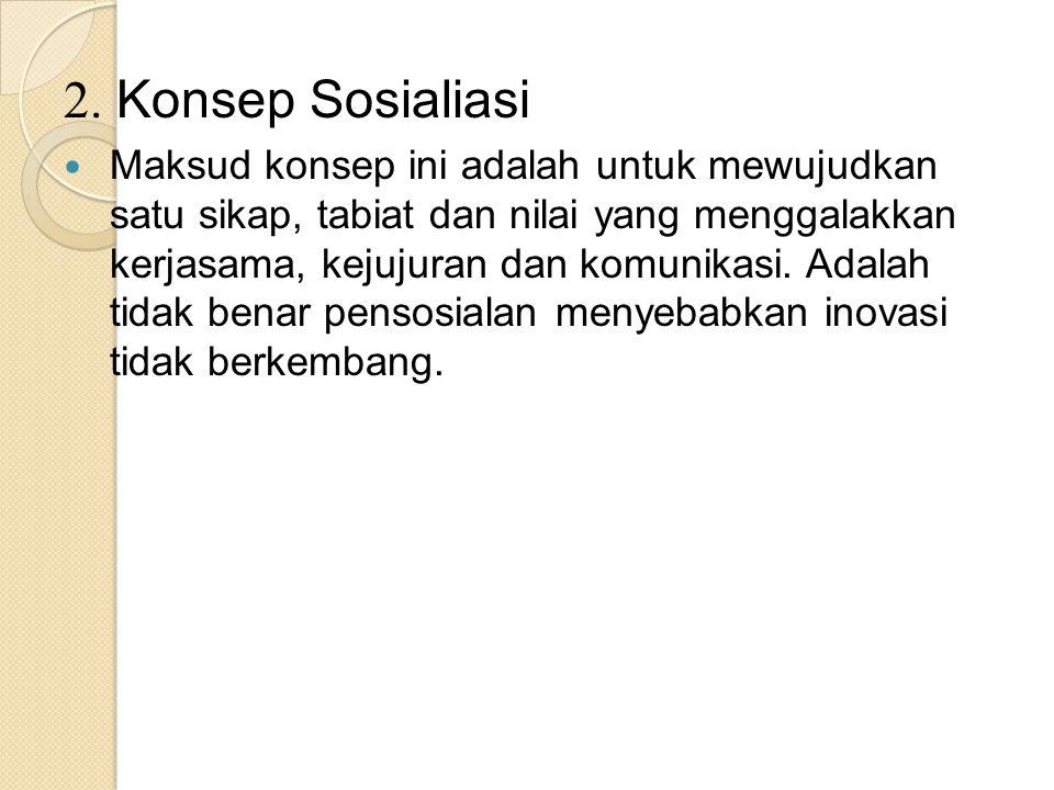 2. Konsep Sosialiasi