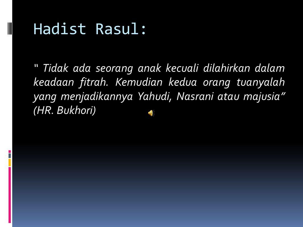 Hadist Rasul: