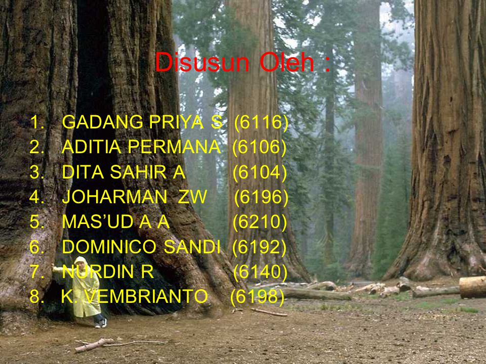Disusun Oleh : GADANG PRIYA S (6116) ADITIA PERMANA (6106)