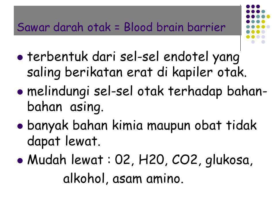 Sawar darah otak = Blood brain barrier