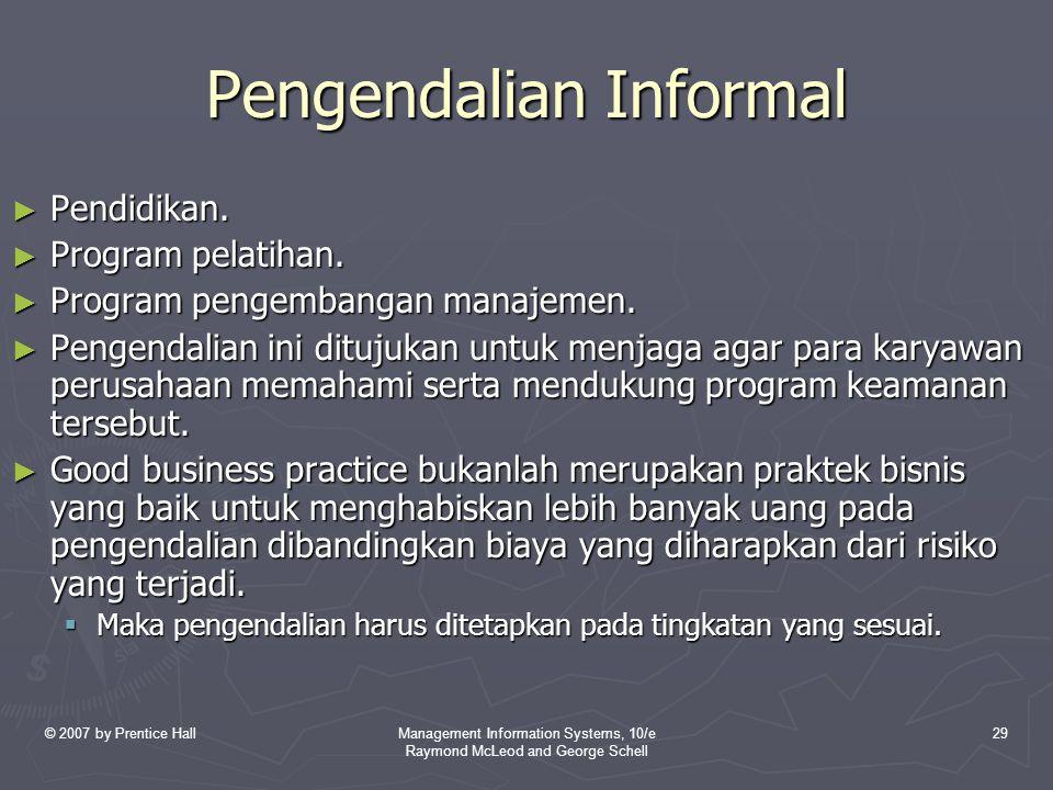 Pengendalian Informal