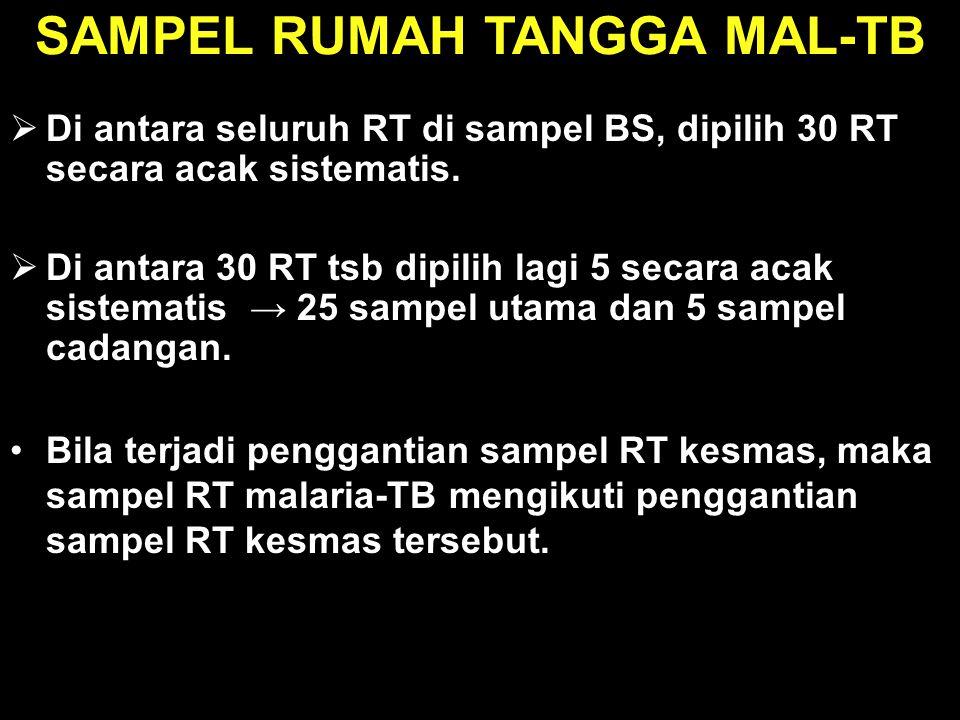 SAMPEL RUMAH TANGGA MAL-TB
