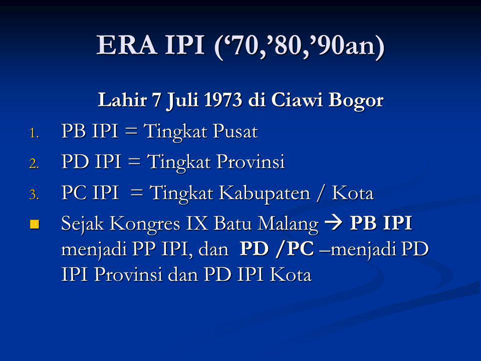 Lahir 7 Juli 1973 di Ciawi Bogor