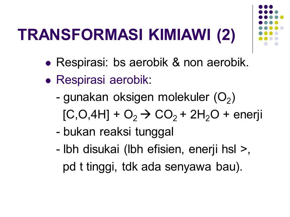 TRANSFORMASI KIMIAWI (2)