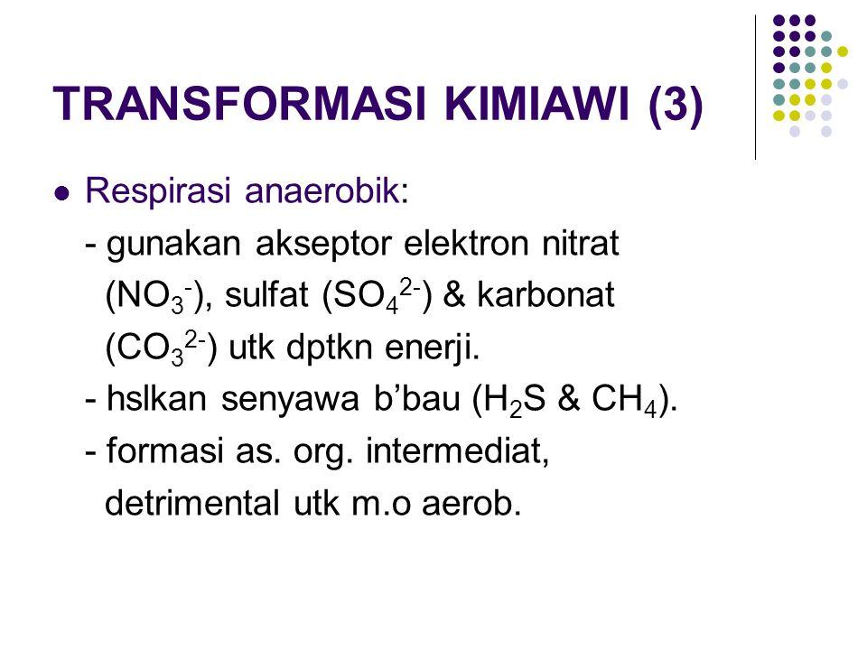 TRANSFORMASI KIMIAWI (3)
