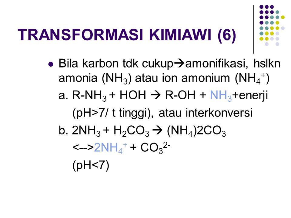 TRANSFORMASI KIMIAWI (6)