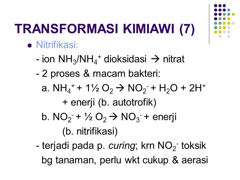 TRANSFORMASI KIMIAWI (7)