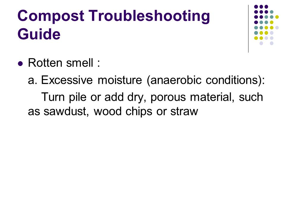 Compost Troubleshooting Guide