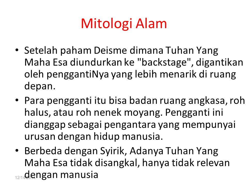 Mitologi Alam