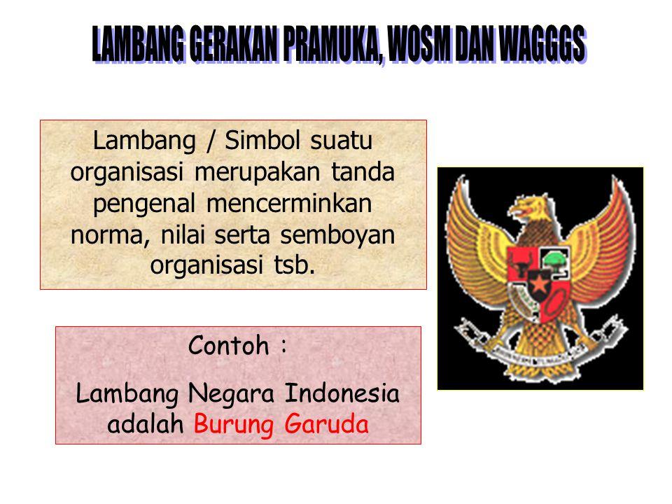Lambang Negara Indonesia adalah Burung Garuda