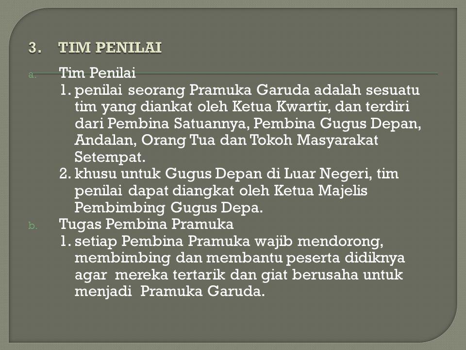 3. TIM PENILAI Tim Penilai.