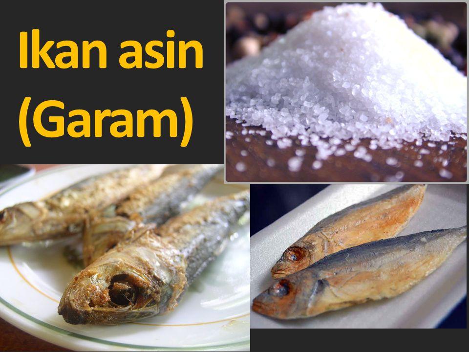 Ikan asin (Garam)