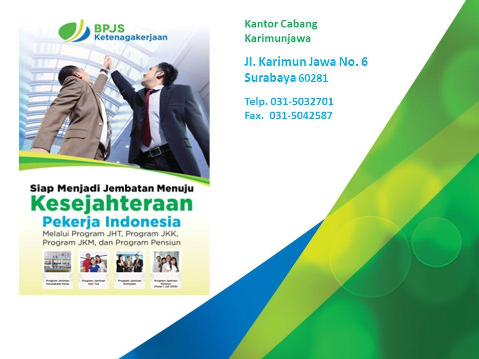 Jl. Karimun Jawa No. 6 Surabaya 60281 Kantor Cabang Karimunjawa