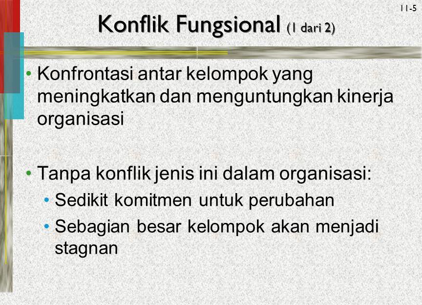 Konflik Fungsional (1 dari 2)