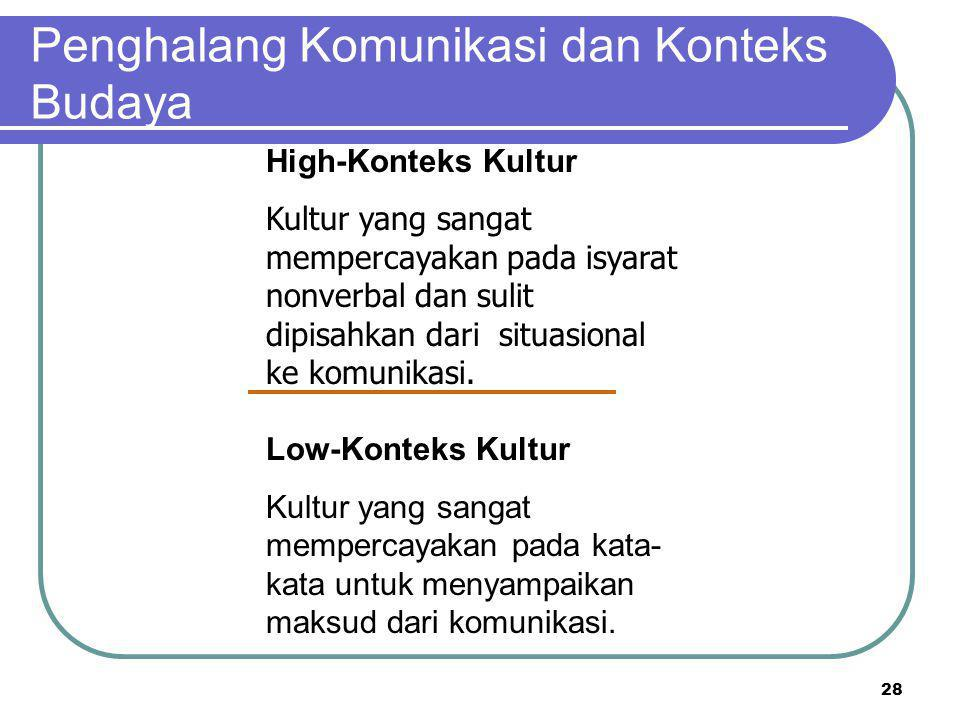 High- vs. Low-Konteks Kultur