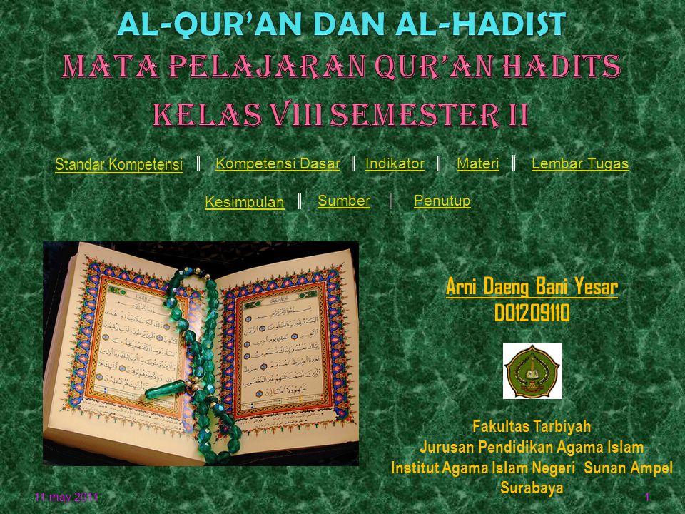 Jurusan Pendidikan Agama Islam Institut Agama Islam Negeri Sunan Ampel