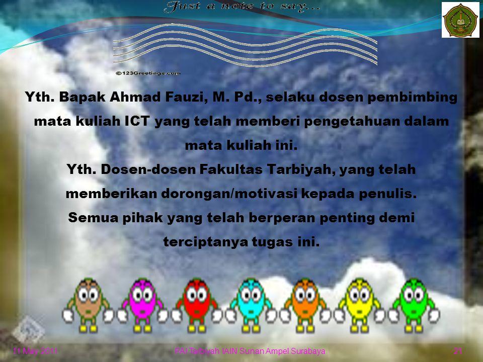 Yth. Bapak Ahmad Fauzi, M. Pd