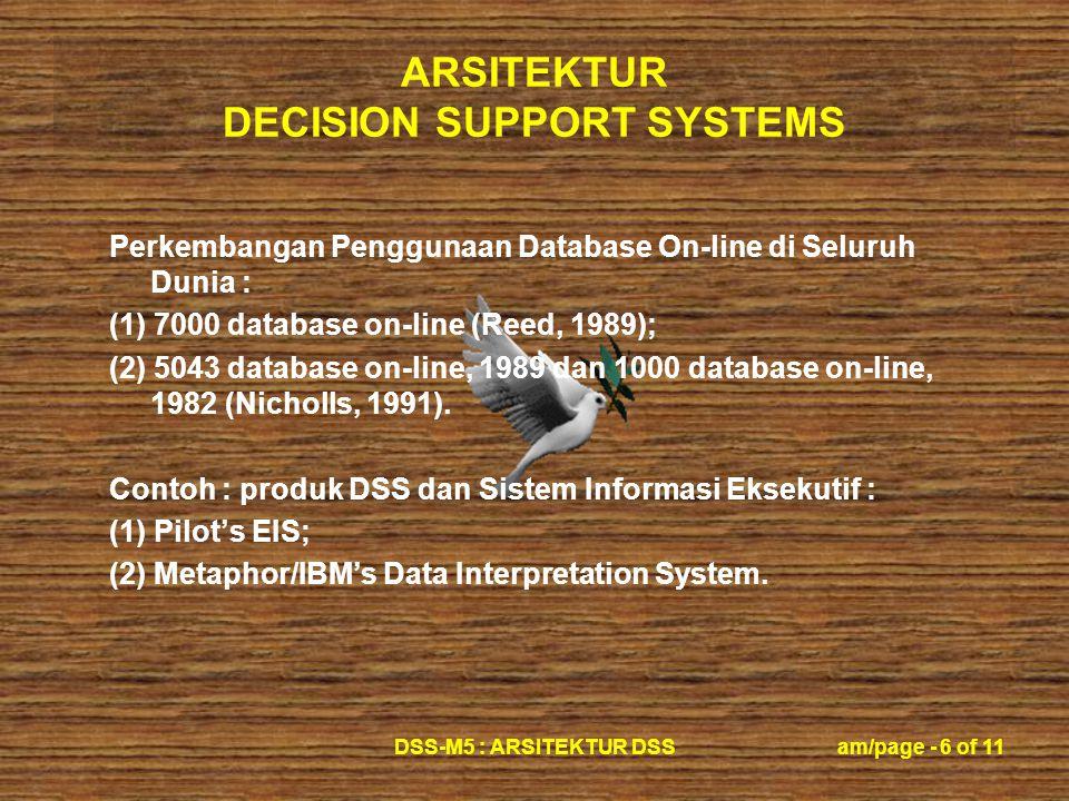Perkembangan Penggunaan Database On-line di Seluruh Dunia :