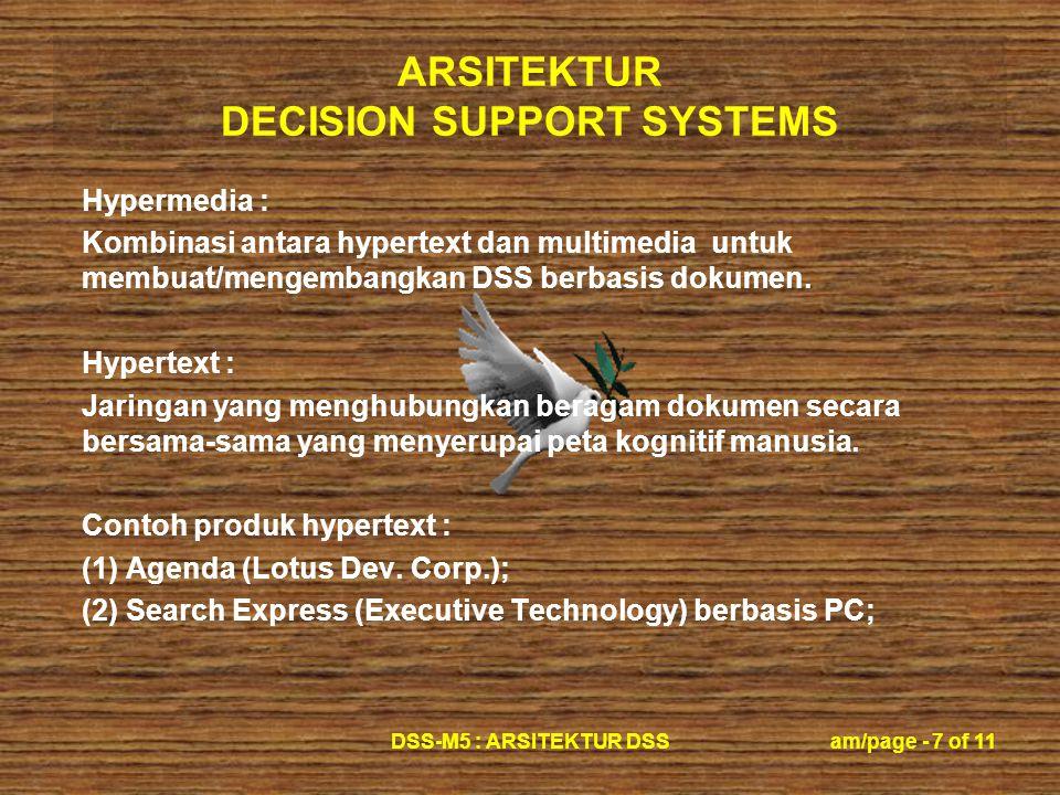 Contoh produk hypertext : (1) Agenda (Lotus Dev. Corp.);