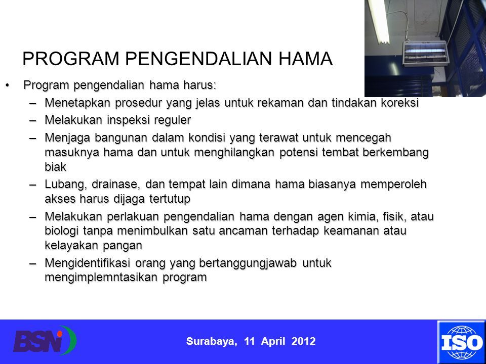 PROGRAM PENGENDALIAN HAMA