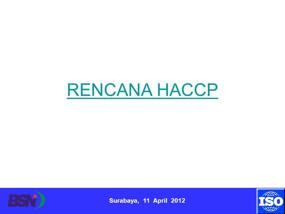 RENCANA HACCP