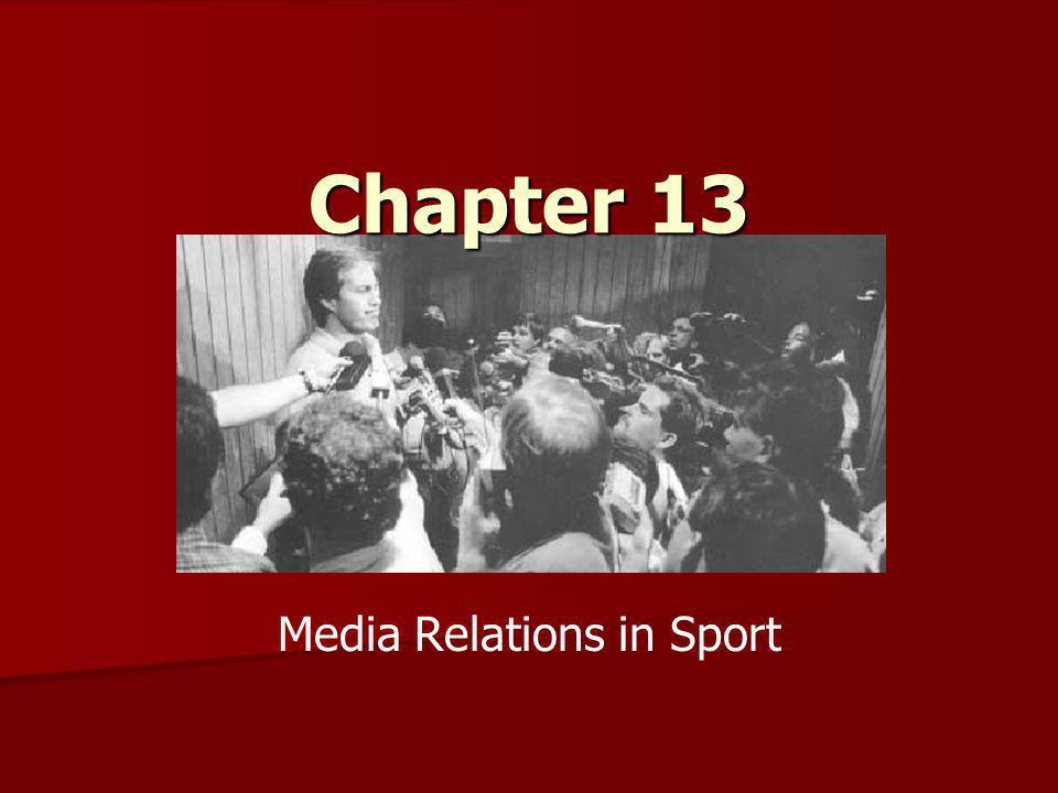 Media Relations in Sport