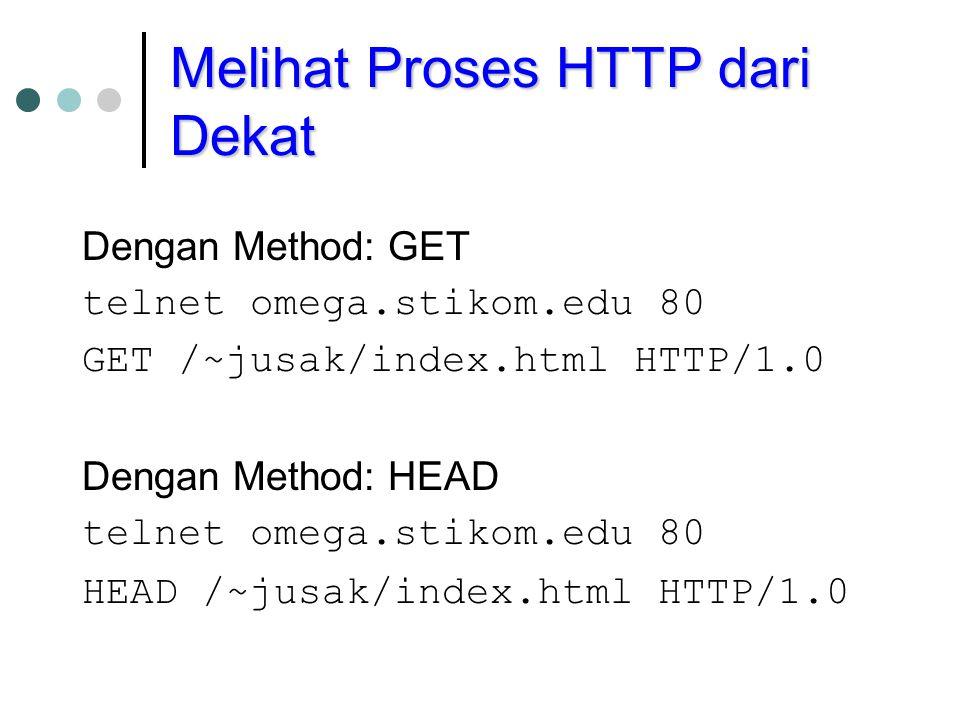 Melihat Proses HTTP dari Dekat