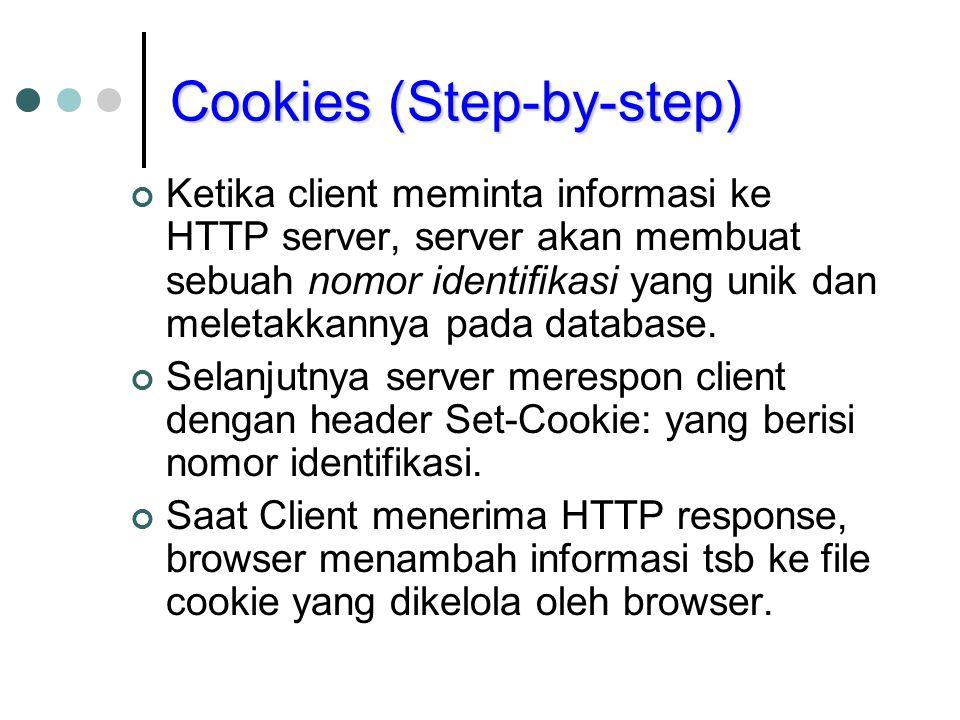 Cookies (Step-by-step)