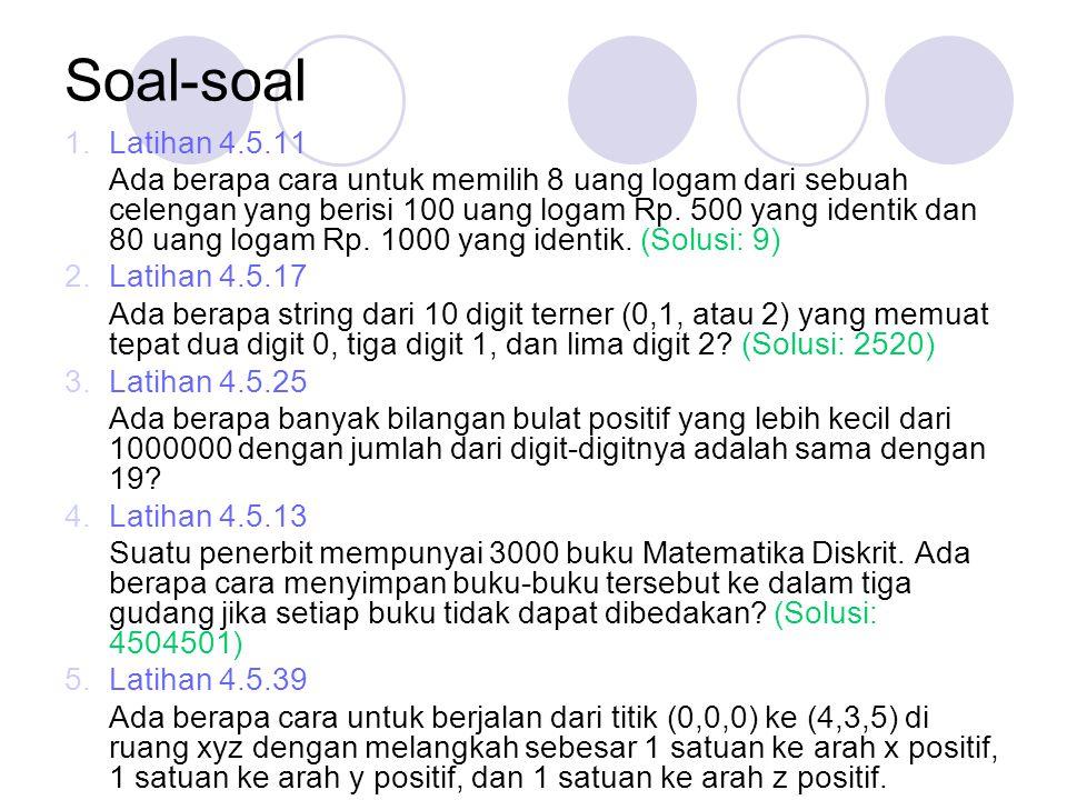 Soal-soal Latihan 4.5.11.