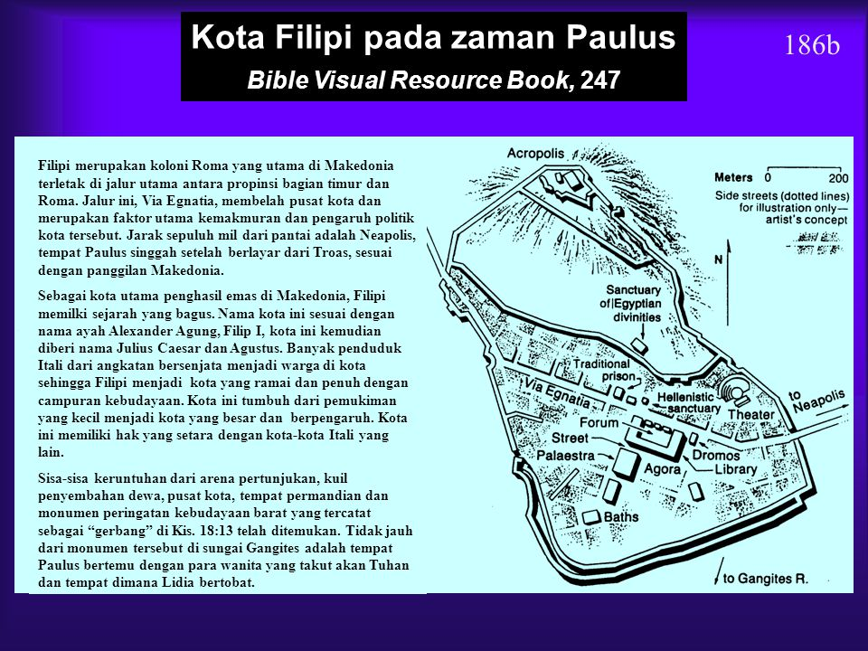 Kota Filipi pada zaman Paulus Bible Visual Resource Book, 247