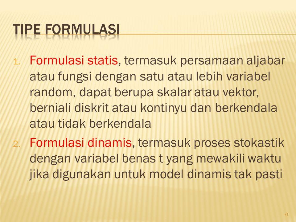 Tipe formulasi