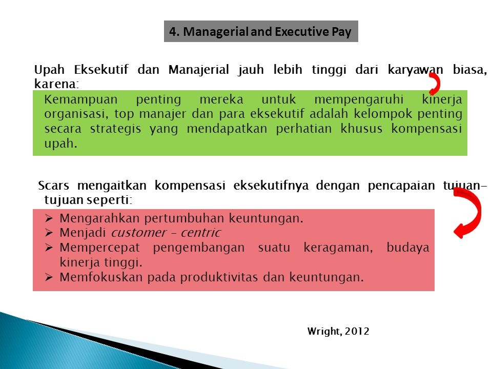 4. Managerial and Executive Pay